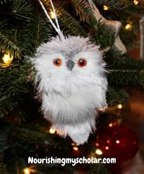 Snowy Owl Halloween Costume by Harry Potter Christmas Tree Nourishing My Scholar