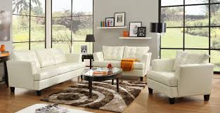 the living room furniture white leather living room furniture