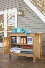 teak outdoor storage cabinet diy outdoor buffet 2 ikea metal cabinets and a custom tiled top