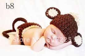 Diaper Halloween Costume Cover Dish Picture Detailed Picture Crochet Monkey