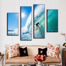 popular seascape canvas prints surfing buy cheap seascape canvas