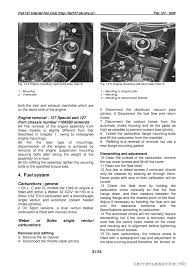 fiat 127 1978 2 g workshop manual