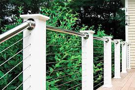 elegance stainless steel deck railing u2014 new decoration