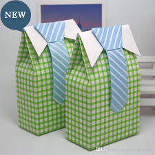 pre wrapped christmas boxes wedding favor box boy small gift boxes with bow tie baby