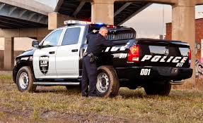 truck car black ram truck rolls out crew cab 4 4 special services police pickup