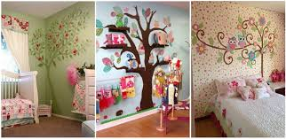 Childrens Bedroom Wall Ideas Home Design Ideas - Childrens bedroom wall designs