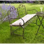 Steel Garden Bench Metal Garden Benches