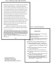 Example Of Research Essay Footnotes In A Research Paper