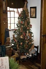 primitive tree ornaments country primitive snowman tree ornaments