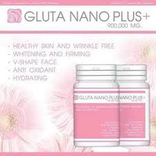 Gluta Nano gluta nano plus 900 000mg and skin care