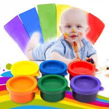 online shop 6 colors hand finger painting pigment mud set kids
