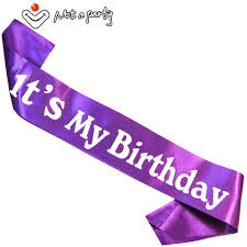 happy birthday sash 7pcs birthday gift for women party decoration happy birthday sash