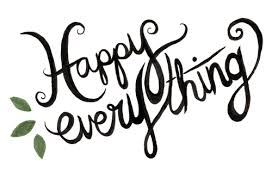 happy everything bridget badore happy everything card or postcard shop prints
