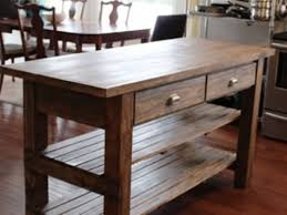 wooden kitchen island table best and popular rustic kitchen island furniture my home design