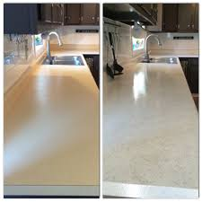 How To Paint Laminate Floors Painted My Countertops With Rustoleum Countertop Coating Applied