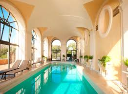 swimming pool round indoor swimming pool with ceramic pool deck