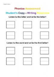english teaching worksheets assessment