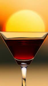 martini wallpaper sunset brown cocktail bokeh sun android wallpaper free download