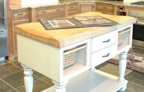 Kitchen Butchers Blocks Islands by Kitchen Island With Copper Countertop Riverside Sheet Metal