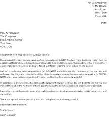 resignation letter for new job resign letter word format example