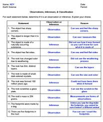 worksheet observations inferences classification editable tpt