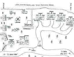 Jackson Hole Map Jackson Hole Dude Ranch Location Maps Gros Ventre River Ranch