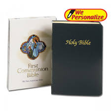 communion bible new american communion bible personalized leaflet missal