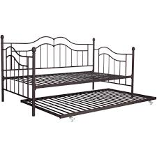 tokyo twin daybed and trundle brushed bronze walmart com