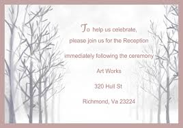 tree wedding invitations simple winter tree wedding invitations ewi139 as low as