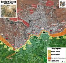 Syria Battle Map by Day Of News On The Map February 12 2017 Map Of Syrian Civil