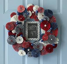 4th of july wreaths five 4th of july wreaths you can make yourself