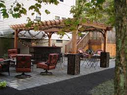 boston gabion garden entertainment room cedar big kahuna pergola