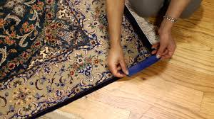 how to uncurl a rug rug care youtube