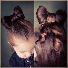 bow hair how to make a hair bow bun tutorial everyday cori nj