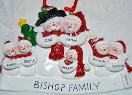 get a personalized ornament from