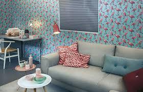papier peint tendance chambre le papier peint s affiche au salon comme dans les chambres