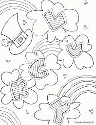 117 best coloring st patrick u0027s day images on pinterest
