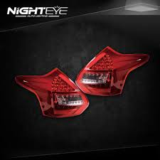 2014 ford focus tail light nighteye ford focus 3 tail lights 2012 2014 focus hatch back led tail
