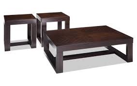brown coffee table set coffee tables bob s discount furniture
