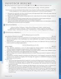 Sample Resume For Customer Service Manager by It Resume Samples Infotechresume