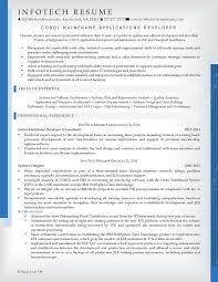 it resume service it resume samples infotechresume