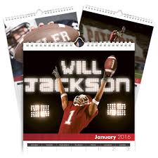 engraved football gifts personalized football calendar signature gifts
