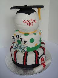volleyball graduation cake volleyball cake and graduation ideas