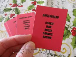 printable pdf christmas taboo fun party game for kids