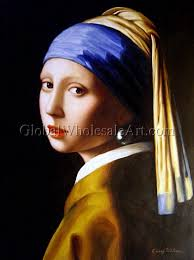 pearl earring painting jan vermeer a girl with a pearl earring paintings on canvas