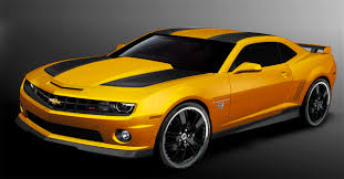 bumblebee camaro chevy celebrates transformers product placement with another
