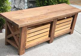 How To Build Wood Bench Diy Storage Bench 5 Ways To Build One Bob Vila