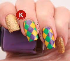 mardi gras nail mardi gras nails kerruticles