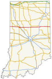 Illinois State University Map by Indiana State Road 26 Wikipedia