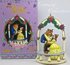 enesco disney s sweet ornament and the beast
